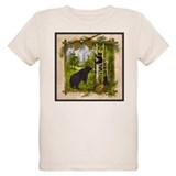 Black bear Organic Kids T-Shirt