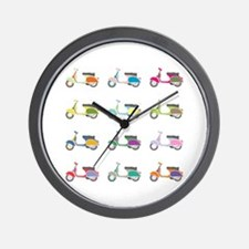 Vespa Piaggio Party Wall Clock