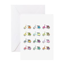 Vespa Piaggio Party Greeting Card