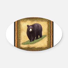 Best Seller Bear Oval Car Magnet