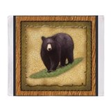 Black bear Fleece Blankets
