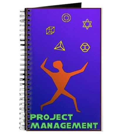 Project Manager Spiral Notebook