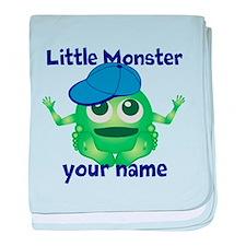 Little Monster Boy baby blanket