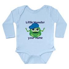 Little Monster Boy Long Sleeve Infant Bodysuit