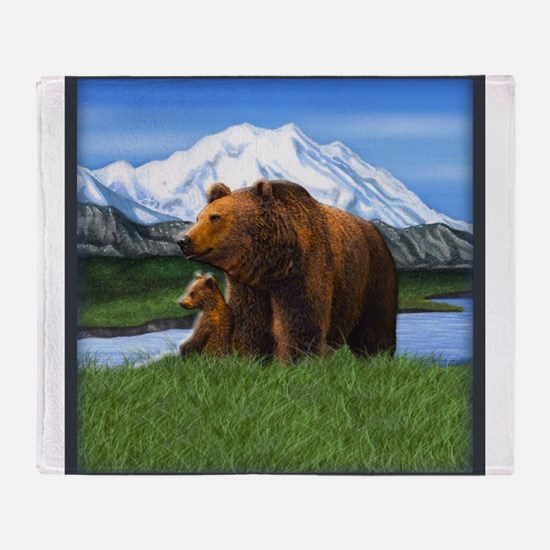 Best Seller Bear Throw Blanket