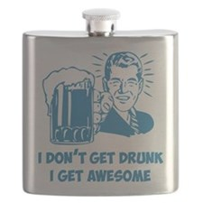 Cute Attitude humor Flask