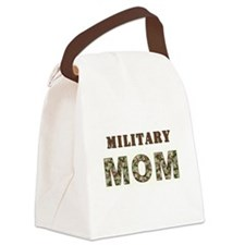 MILITARY MOM ONE.jpg Canvas Lunch Bag