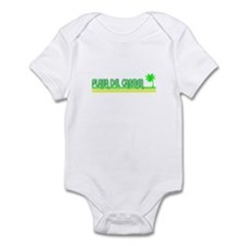 Cute Playa del carmen Infant Bodysuit