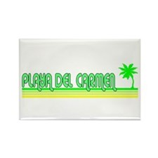 Unique Playa del carmen Rectangle Magnet