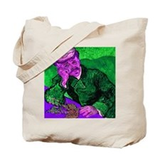 Dr. Gachet in Sinful Cyan Tote Bag