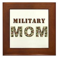 MILITARY MOM ONE.jpg Framed Tile
