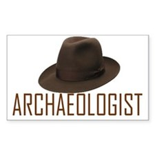 Archaeologist Rectangle Decal