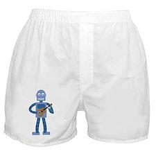 Ukulele Robot Boxer Shorts