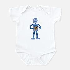 Ukulele Robot Infant Bodysuit