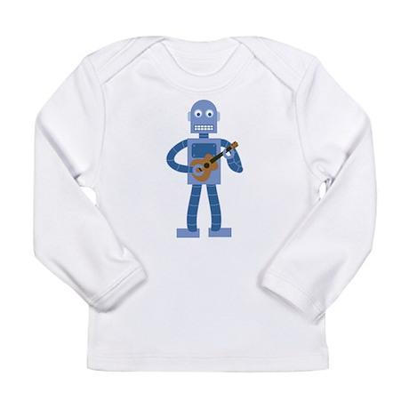 Ukulele Robot Long Sleeve Infant T-Shirt