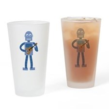 Ukulele Robot Drinking Glass