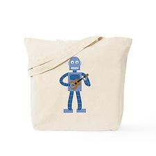 Ukulele Robot Tote Bag