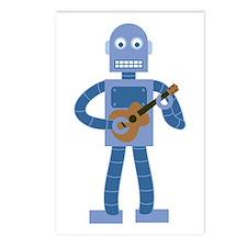 Ukulele Robot Postcards (Package of 8)