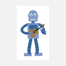 Ukulele Robot Decal