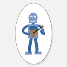 Ukulele Robot Decal