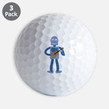 Ukulele Robot Golf Ball