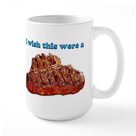 i Wish Collection - Steak Large Mug