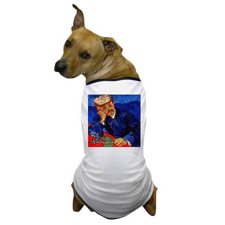 Dr. Gachet in Blue Dog T-Shirt