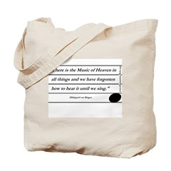 """Music of Heaven"" Tote Bag"