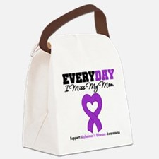 Alzheimer's MissMyMom Canvas Lunch Bag