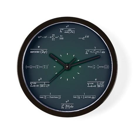 Math Clocks Math Wall Clocks Large Modern Kitchen Clocks