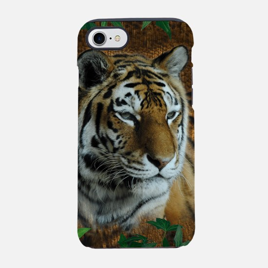 Tiger Woodburn with Vines iPhone 7 Tough Case