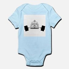 Workout Beast Infant Bodysuit