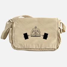 Workout Beast Messenger Bag