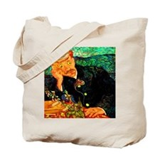 Dr. Gachet with Ring Golder Tote Bag