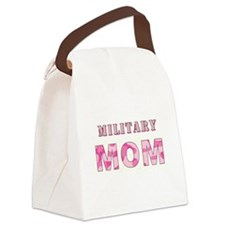 MILITARY MOM Canvas Lunch Bag