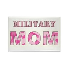 MILITARY MOM Rectangle Magnet