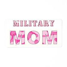 MILITARY MOM Aluminum License Plate
