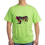 MapleLeafUnicorn2000x.png Green T-Shirt