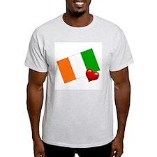 Ivory Coast Ash Grey T-Shirt