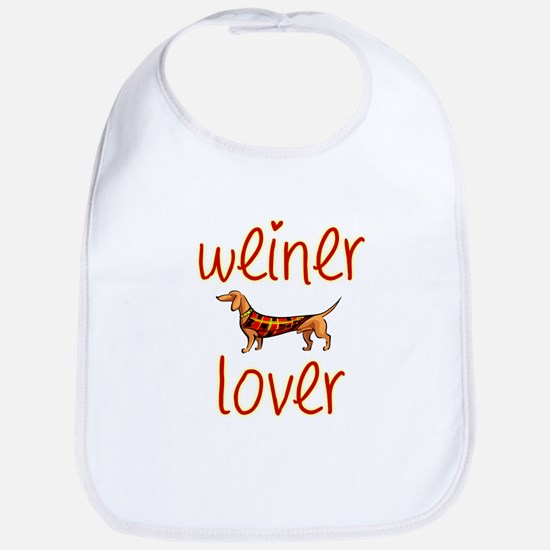 WEINER LOVER Bib