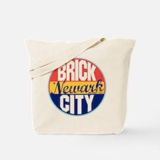 Newark Vintage Label Tote Bag