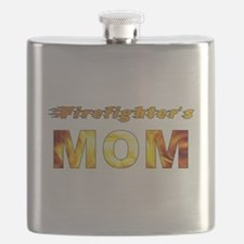 FIREFIGHTER'S MOM Flask