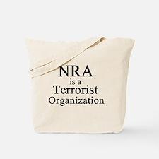 NRA Terrorist Tote Bag