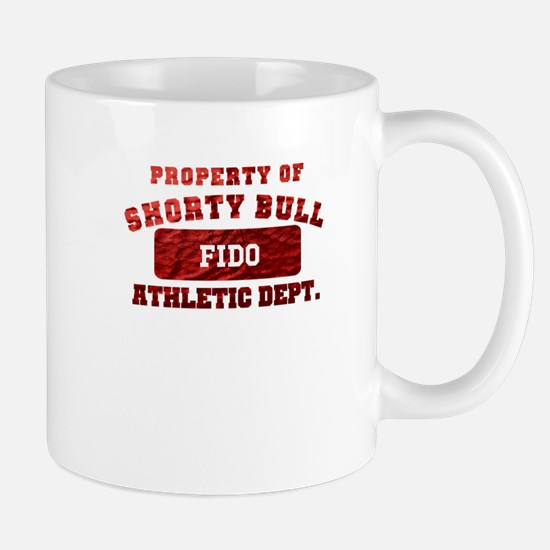 Personalized Property of Shorty Bull Mug