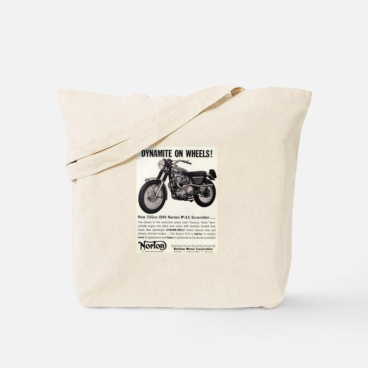 1967 Norton Dynamite Motorcycle P-11 Scrambler Tot