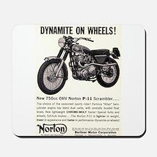 1967 Norton Dynamite Motorcycle P-11 Scrambler Mou