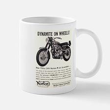 1967 Norton Dynamite Motorcycle P-11 Scrambler Small Small Mug