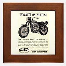 1967 Norton Dynamite Motorcycle P-11 Scrambler Fra