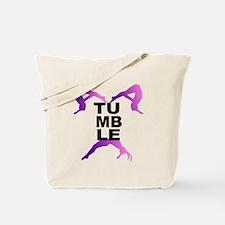 Tumbling Girls Tote Bag