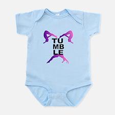 Tumbling Girls Infant Bodysuit